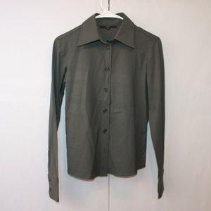Gucci Women's Size 38 Wool Dress Shirt LIKE NEW